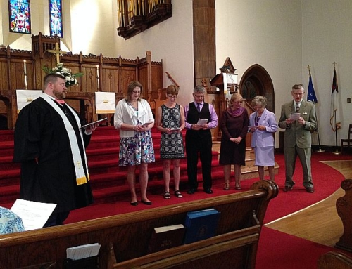 Easter Sunday and Second Church Welcomes new members!