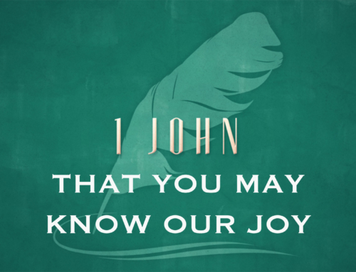 That You May Know Our Joy