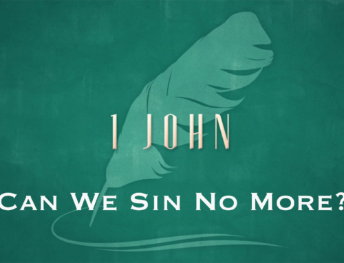 Can We Sin No More?